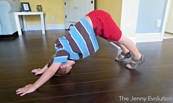 Yoga Downward Dog Pose for Kids