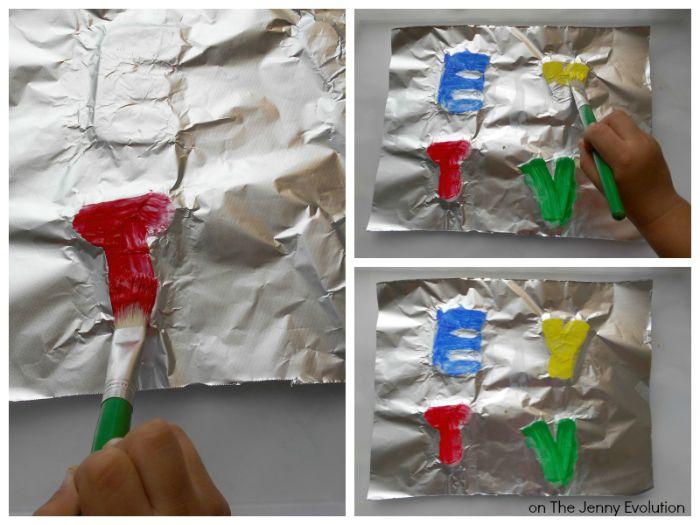 Emboss Painting Activities Step 3