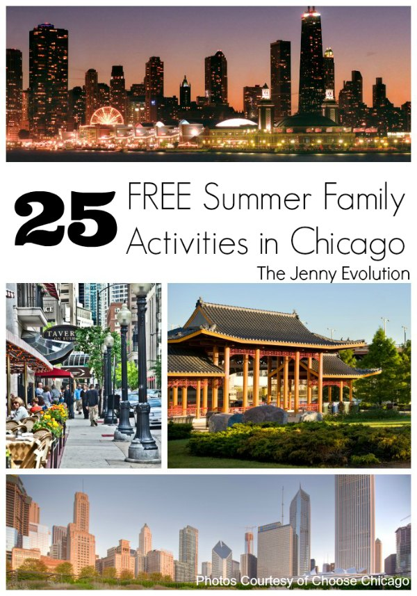 25 FREE Summer Activities in Chicago for Kids and Families