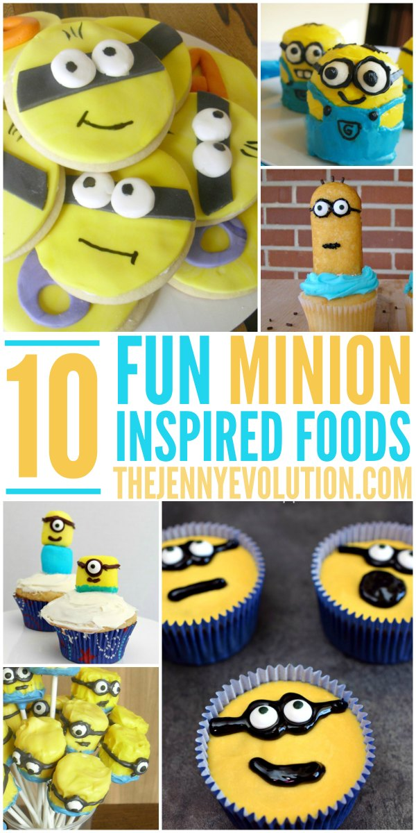 10 Fun Minion Food Ideas Inspired by the Minion Movie! | The Jenny Evolution
