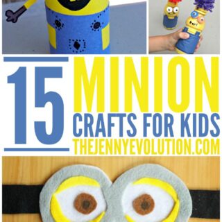 15 Creative Minion Crafts for Kids