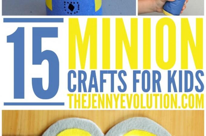 Minion Crafts for Kids + More Minion Fun!