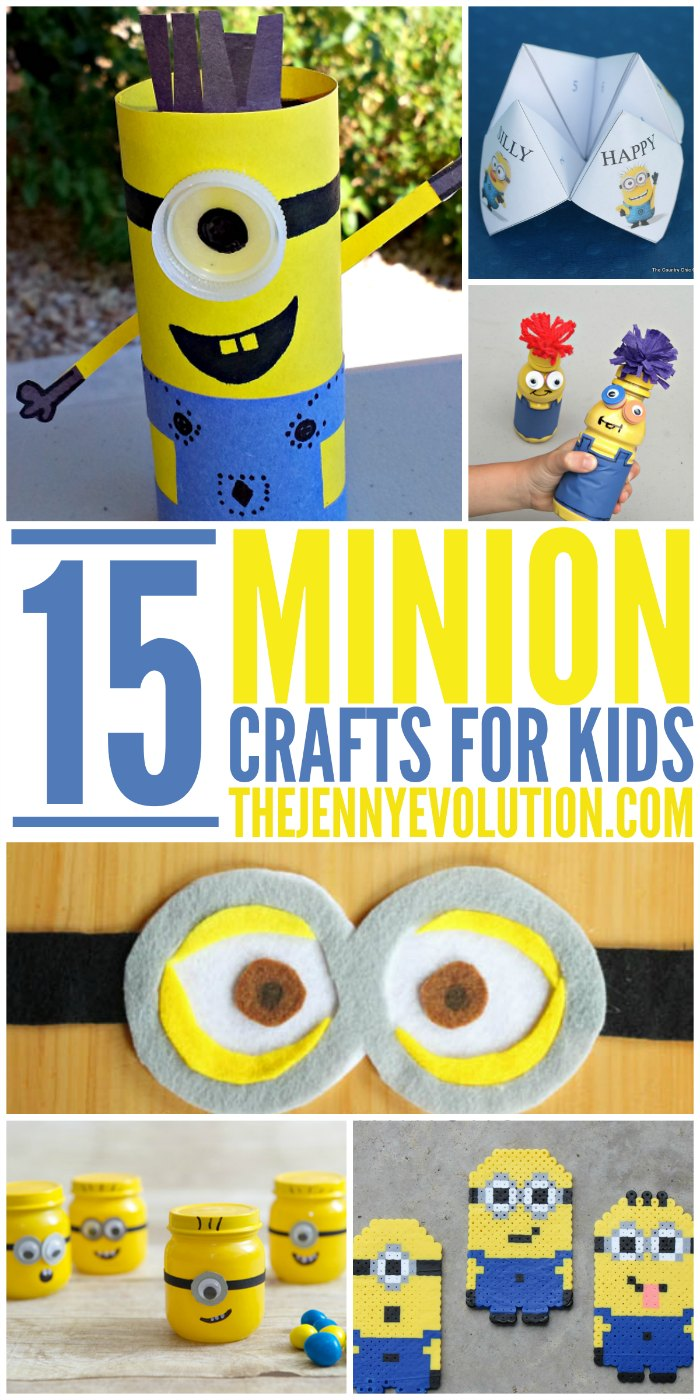 Minion Crafts for Kids + More Minion Fun!