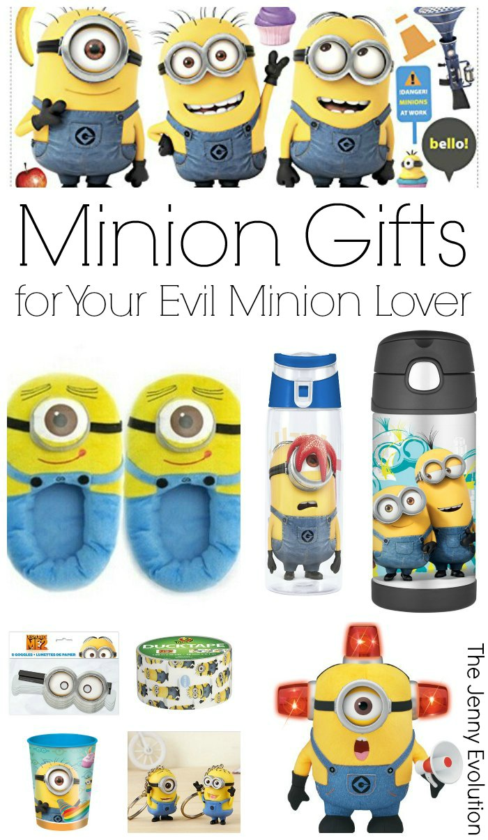 Minion Gifts for the Evil Minion Lover in Your Life | The Jenny Evolution