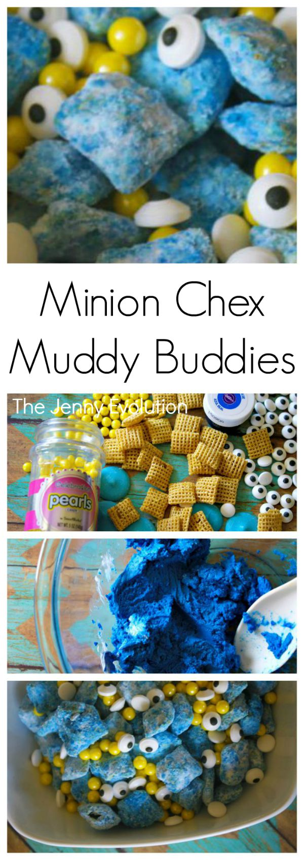 Chex Muddy Buddies Minion Recipe | Mommy Evolution