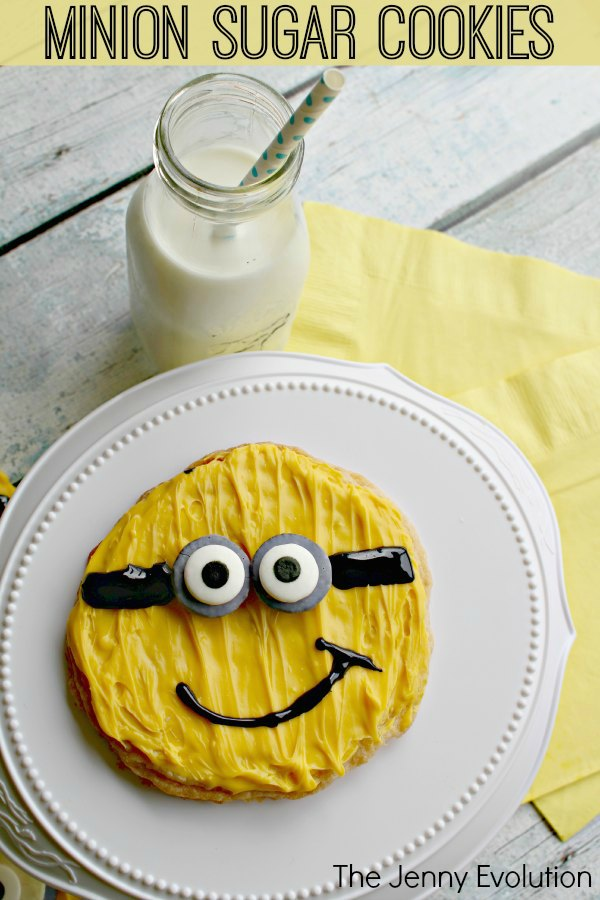 Minion Sugar Cookies Recipe