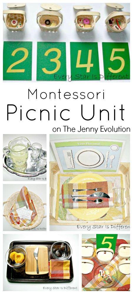 Montessori Picnic Activities Unit