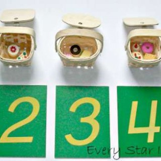 Picnic Basket Number Sorting - Montessori Inspired Picnic Activities
