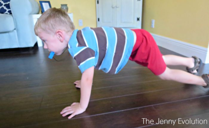 Yoga Plank Post for Kids