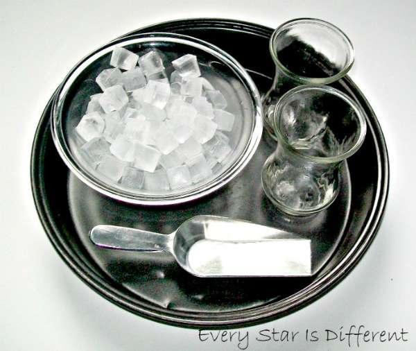Scooping Ice - Montessori Inspired Picnic Activities
