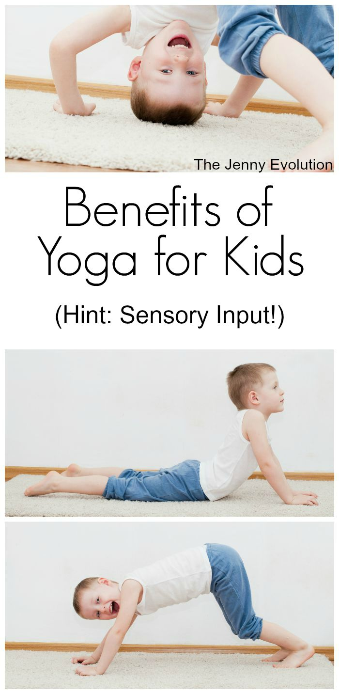 Sensory Benefits of Yoga for Kids | Mommy Evolution