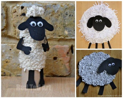 10 Easy Shaun The Sheep Craft Ideas For Kids