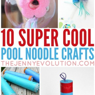 Super Cool Pool Noodle Crafts