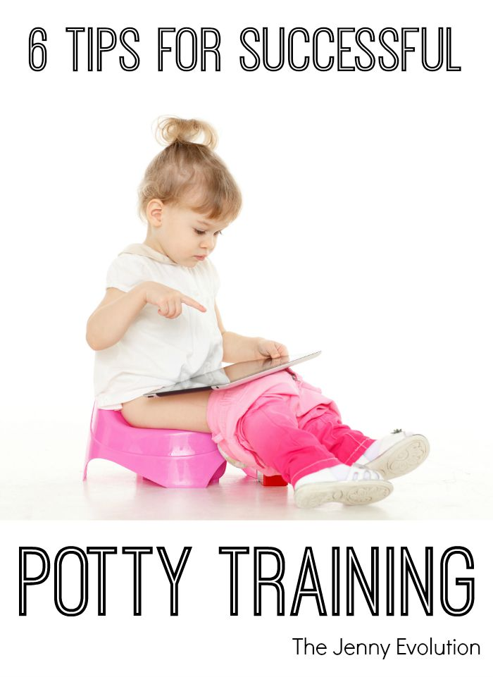 6 Tips for Successful Potty Training | The Jenny Evolution