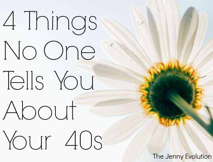 4 things No One Tells You About Your 40s | Mommy Evolution