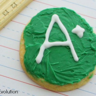 Sugar ABC Cookies –  Perfect for School!
