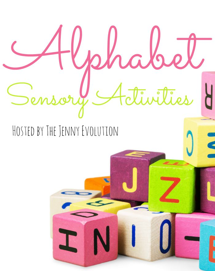 Alphabet Sensory Activities from A to Z | The Jenny Evolution