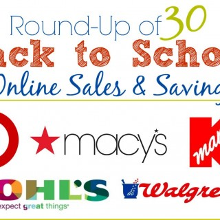 30+ Back to School Coupon Codes and Sales