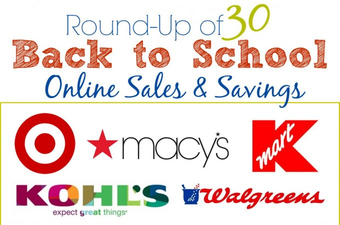 Back to School Sales and Savings
