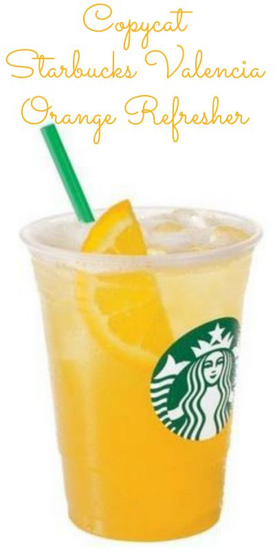 DIY Copycat Valencia Orange Refresher Recipe | Mommy Evolution