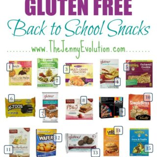 Gluten Free Snacks for Kids – Perfect for Back to School