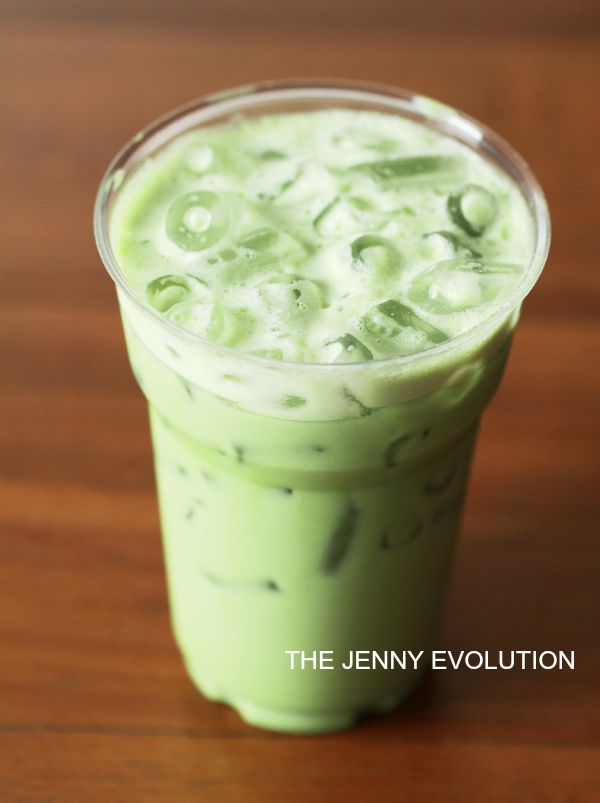 Ice Green Tea Latte - Starbuck Copycat Recipe