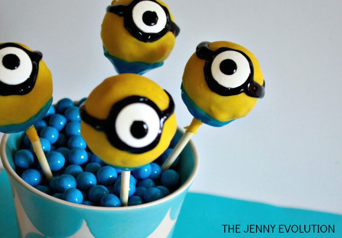 Minion Cake Pops on a Stick | The Jenny Evolution