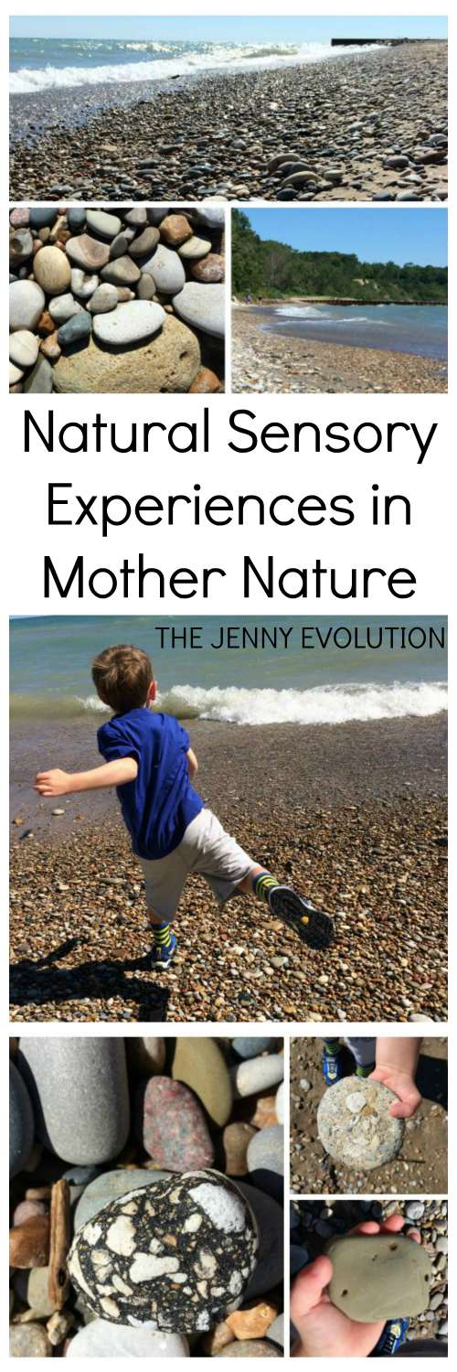 Natural Sensory Experiences in Mother Nature