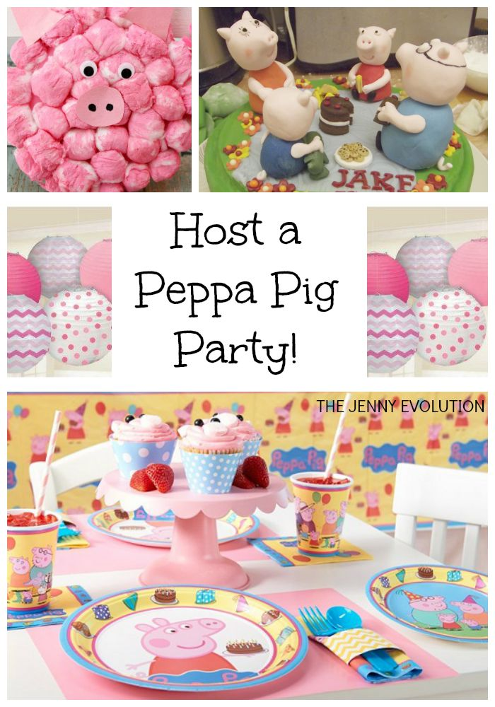 Peppa Pig Birthday Party Ideas! from The Jenny Evolution