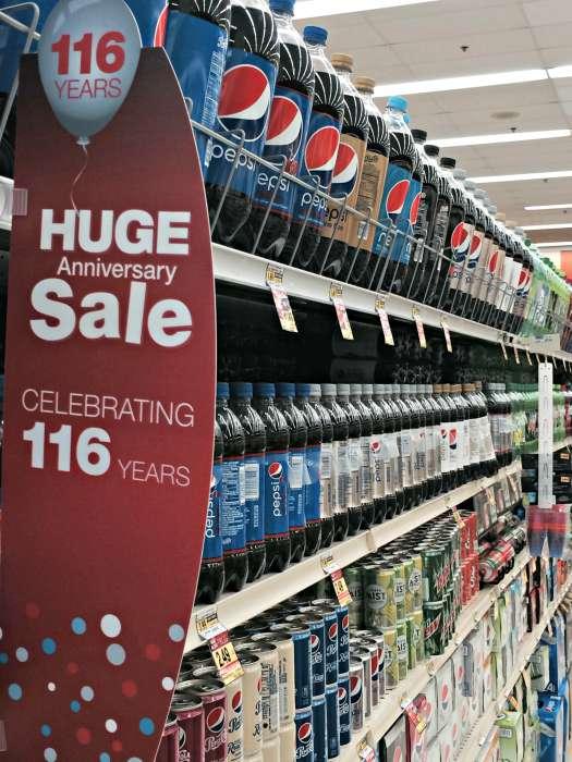 Pepsi Anniversary Sale