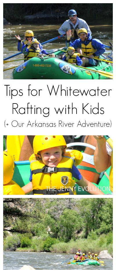 Tips for Whitewater Rafting with Kids (Plus our Arkansas River, Colorado Adventure) | The Jenny Evolution