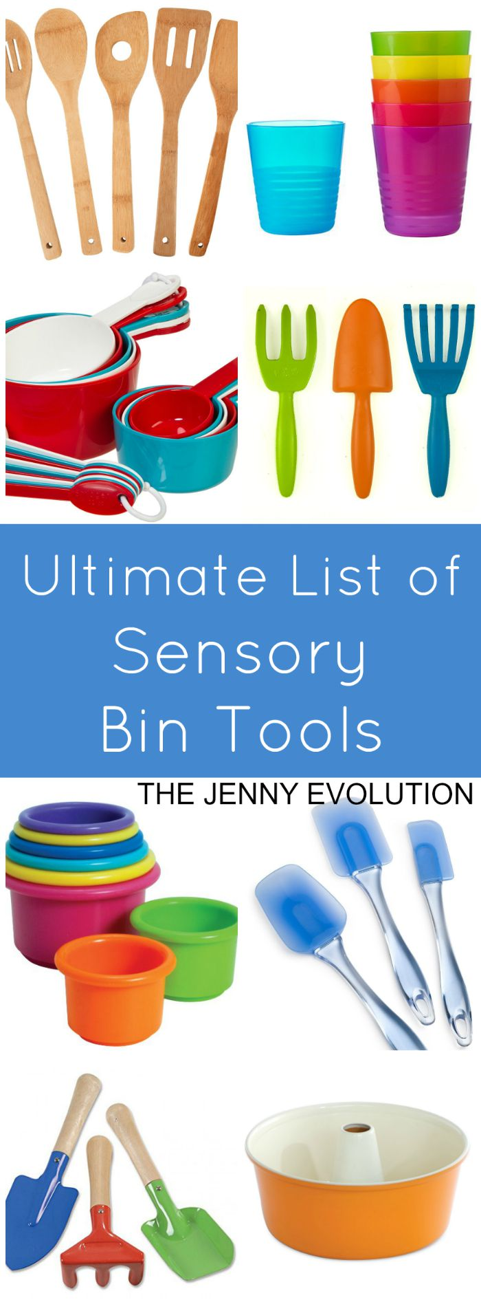 Ultimate List of Sensory Bin Tools | Mommy Evolution