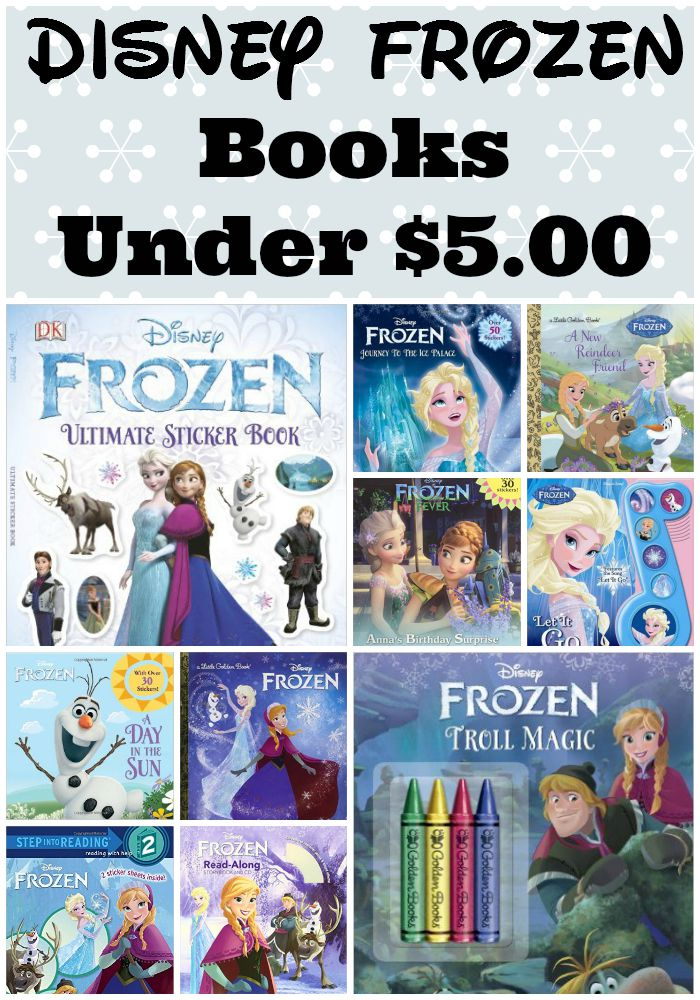 Disney Frozen Books Under $5. Perfect gift alternatives for the frozen lover in your home | The Jenny Evolution