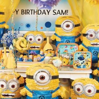 Minion Birthday Party Ideas!