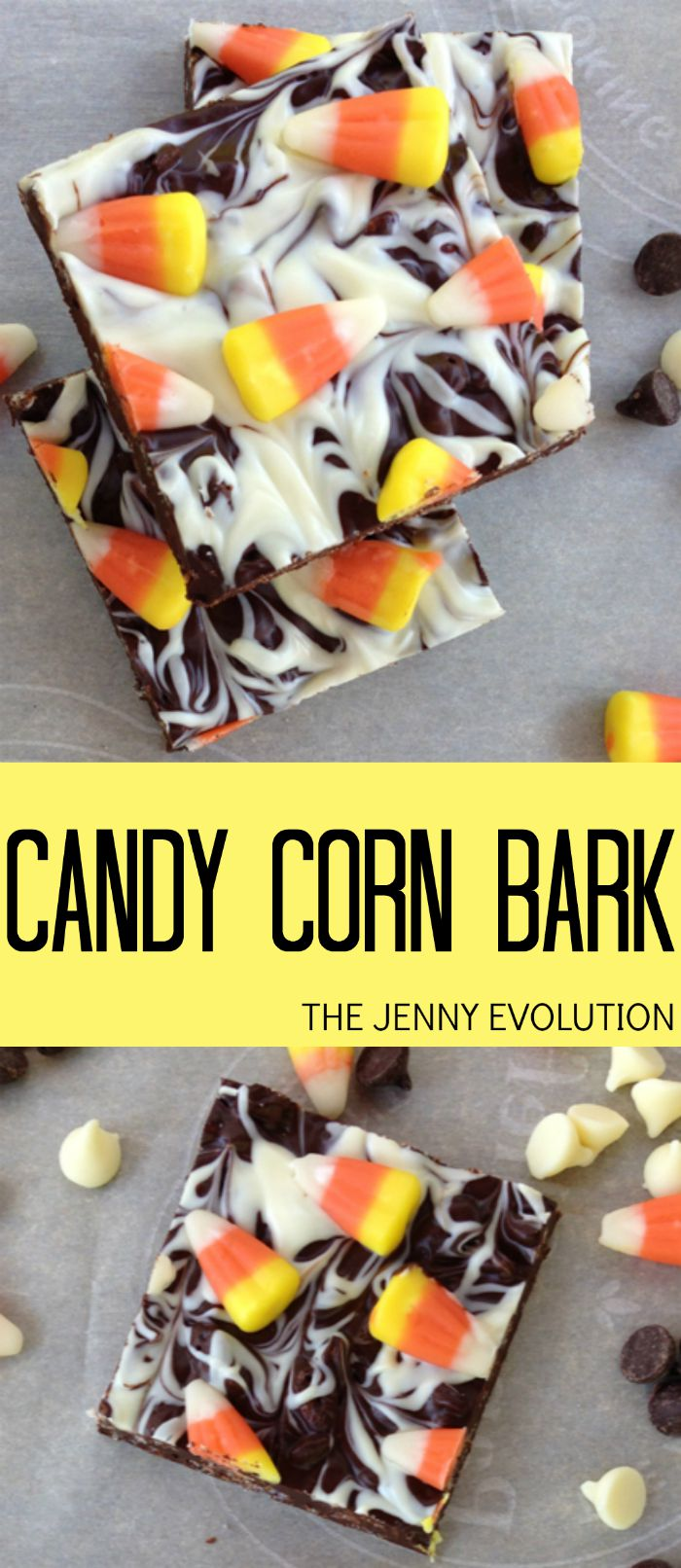 Candy Corn Bark Recipe | The Jenny Evolution