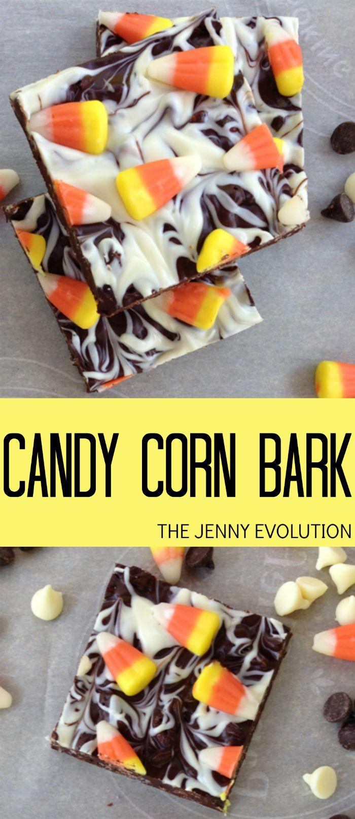 Candy Corn Bark Recipe | The Jenny Evolution