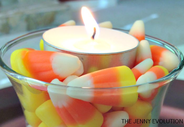 Frugal DIY Candy Corn Decorations | Mommy Evolution