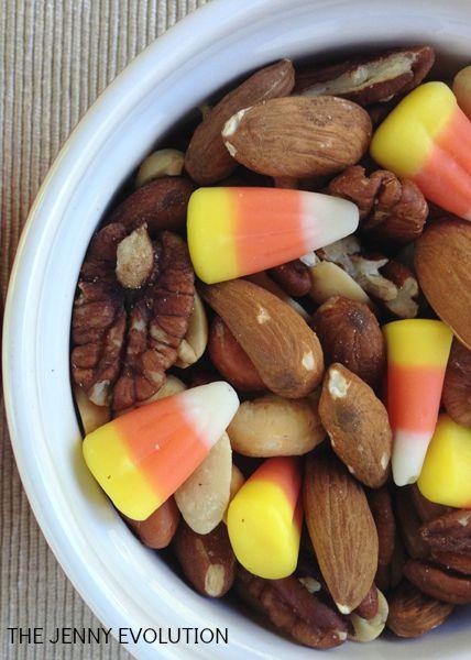 Candy Corn Nut Snack Mix