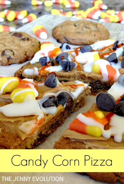 Candy Corn Pizza Recipe | The Jenny Evolution