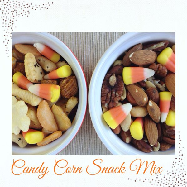 Candy Corn Snack Mix Recipe | Mommy Evolution