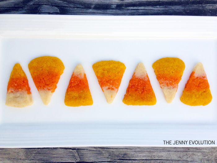 Candy Corn Sugar Cookies Recipe #2