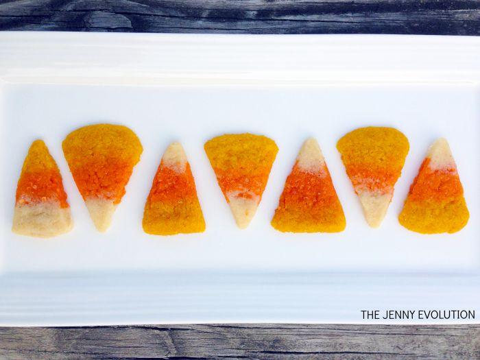 Candy Corn Sugar Cookies Recipe #2
