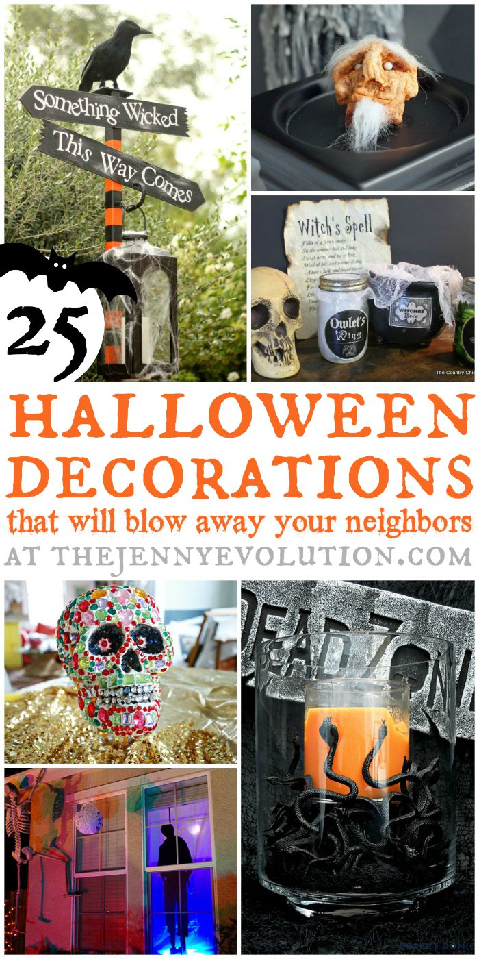 Scary DIY Halloween Decorations That will Blow Your Neighbors Away | The Jenny Evolution
