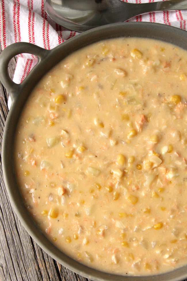 Hearty Fish Chowder Recipe from A Pretty Life in the Suburbs