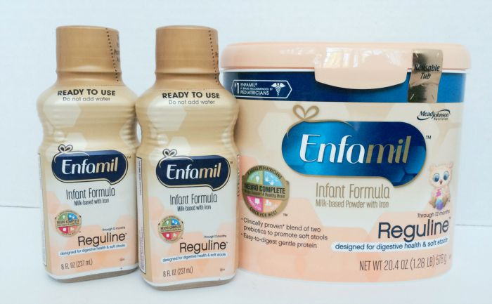 Enfamil Reguline Helps with Constipation