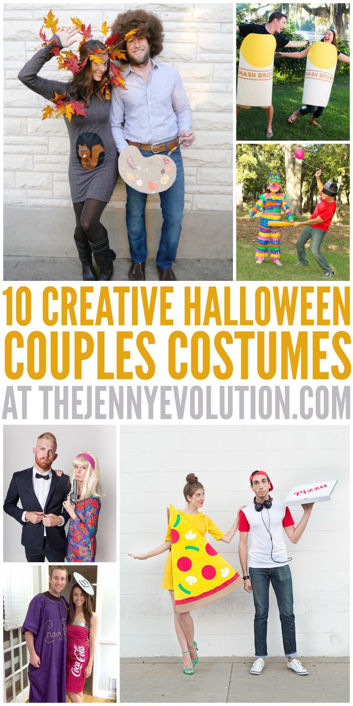 Halloween Costume Ideas for Couples | Mommy Evolution