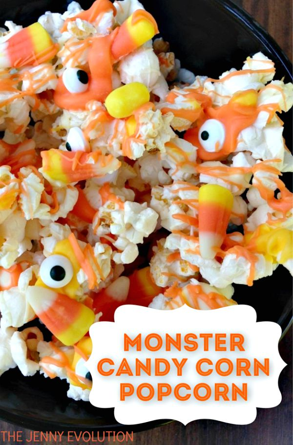 | Monster Popcorn Candy Mix Recipe | Mommy Evolution