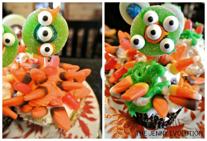 Monster Cupcakes 2