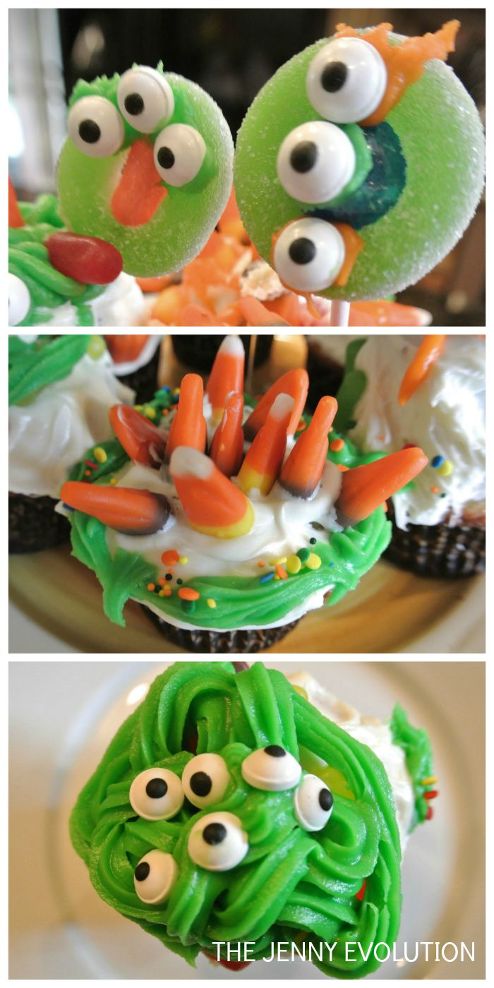 Monster Cupcakes Tutorial