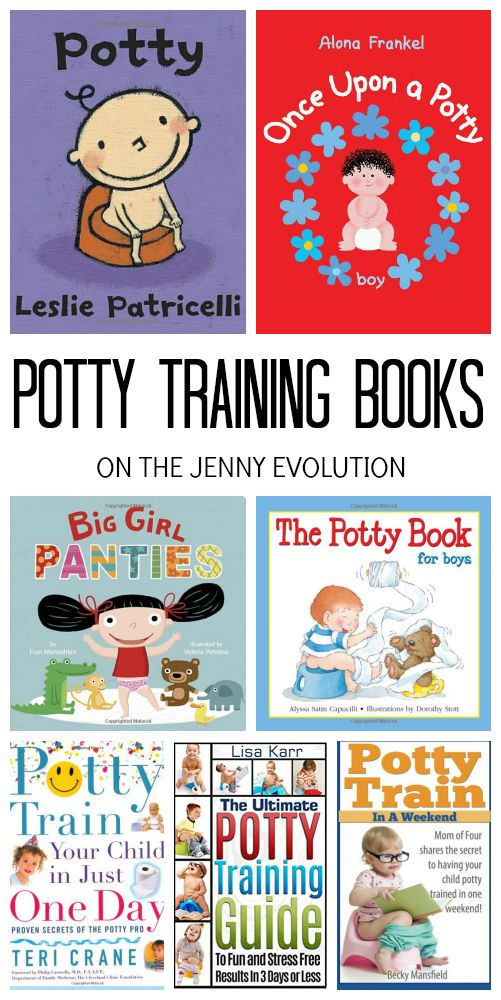 Potty Training books for Kids and Parents | The Jenny Evolution